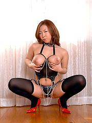 Yukki Kondos big Japanese tits are awesome