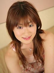 Nasty asian girl Yu Ayase solo session