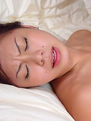 Teenage Japanese girl loves a semen load on her cute face