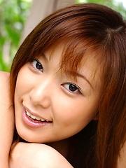 Yua Aida sexy Asian teen model in her teeny bikini nice ass