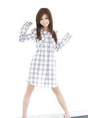 Cute japanese teen girl hairy pussy
