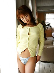 Asian beauty has a lovely body with lovely firm tits
