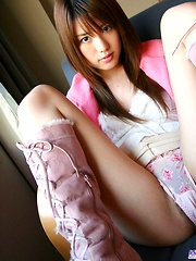 Nanami has lovely firm tits she flaunts for the camera