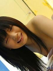 Kinky Akane Ozora getting her cunt jizzed