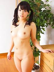 Shy japanese girl Hana Takizawa