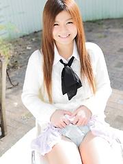 Japanese cutie Asuka Ueda