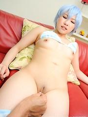 Sexy japanese model Miku Aono roleplay