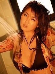 Big-titted japanese woman Harada Orei