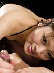 Kanda Nagiko masturbates man cock