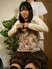 Massage for amateur japanese woman