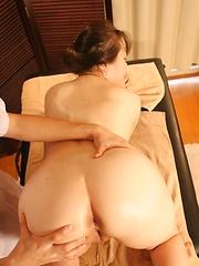 Massage and toy masturbation
