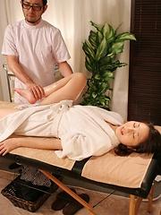 Erotic massage for japanese woman