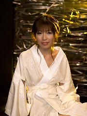 Arisa Aoyama blowjob and masturbation