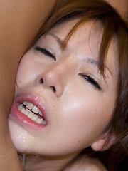Sexy japanese whore Rino Asuka pussy playing