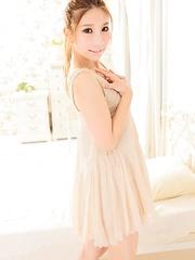 Sexy japanese teen Risa Ishii