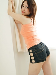 Ayano posing in sexy panties
