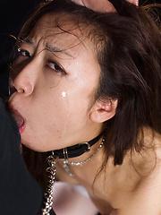 Cock hungry japanese whore Kitahara Chiaki deepthroat pics