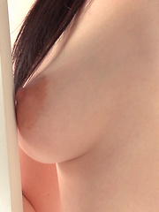 Japanese girl's boobs come in all shapes and sizes and everyone on the crew has a favorite type. The shape and movement of Reina's breasts were anime quality!
