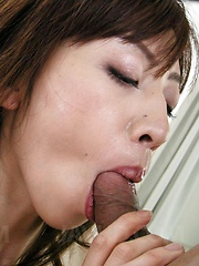 Kanon Hanai Asian has asshole fucked with fingers and hard penis