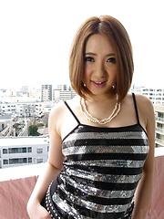 Alice Ozawa Asian busty has vagina fingered and mouth fucked