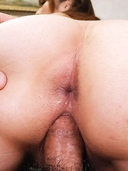 Hitomi Araki Asian has boobs squeezed while she rides joystick
