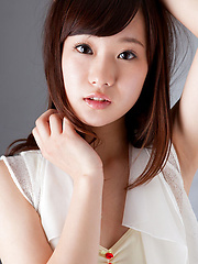Kana Yuuki Asian shows you how how great she looks in white
