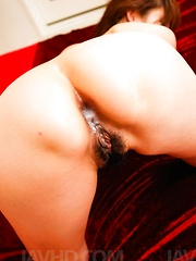 Hitomi Kanou Asian licks cocks and is fucked in asshole and peach