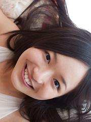 Mayumi Yamanaka Asian with big hooters smiles and is very playful