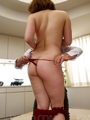 Alice Ozawa Asian sucks and rides phallus so well like a whore