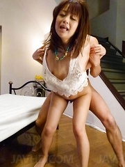 Maika Asian has hot box fingered and screwed while she screams