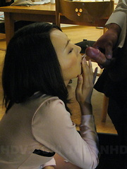 Yui Asao is filled up with her hubby's cock.