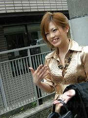 Stunning babe Setsuna gets drilled in salon