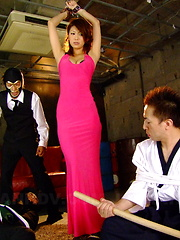 Dirty Runa Sesaki gets tied up and banged