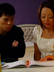 Nasty You Shiraishi gives head in sixty nine