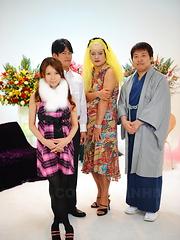 Horny teen Rino Asuka take sher clothes off