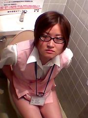 Japanese Toilet Pissing