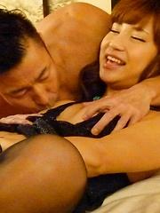 Stunning Japanese girl enjoys a good fucking