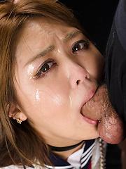 Hidaka Ayano face fuck