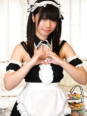 Shizuku is a sex Japanese maid
