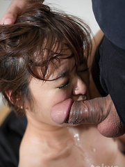 Cute Japanese girl Imai Meril face fuck