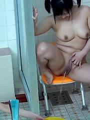 Steamy Streams At A Bathhouse 3