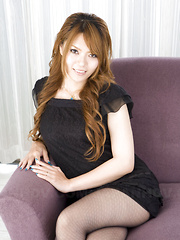 Slutty Asian gal Eri Aihara gets teased well