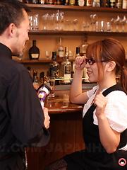 It's hard to resist slutty girl Aoi Mochida